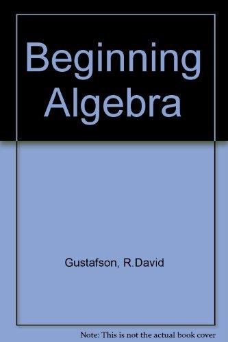 9780534246181: Beginning Algebra (Mathematics)