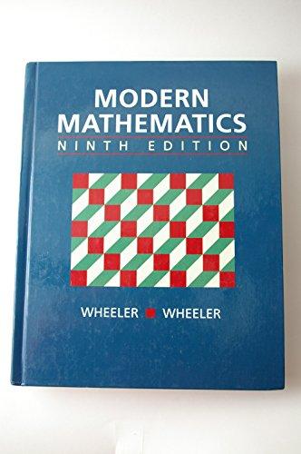 9780534246365: Modern Mathematics