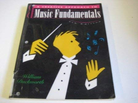 9780534246969: Creative Approach to Music Fundamentals