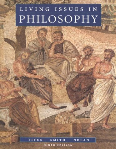 9780534247089: Living Issues in Philosophy