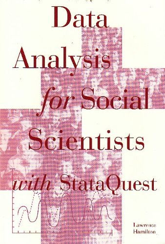 9780534247232: Data Analysis for Social With Stataquest for Hamilton's Data for Social Scientist