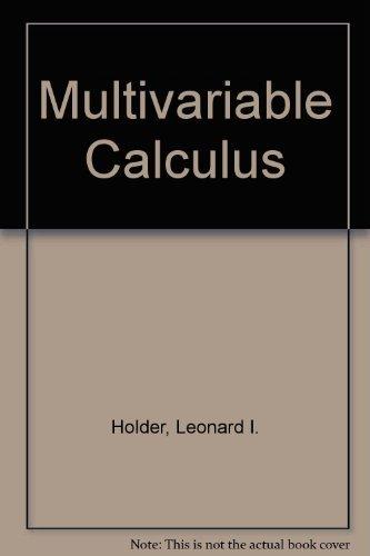 9780534249120: Multivariable Calculus
