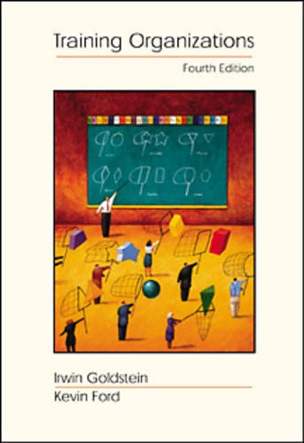9780534249854: Training in Organizations: Needs Assessment, Development, and Evaluation (High School/Retail Version)