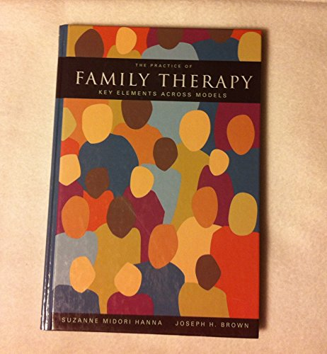 9780534250980: The Practice of Family Therapy: Key Elements Across Models