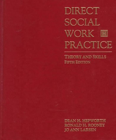 9780534251048: Direct Social Work Practice: Theory and Skills