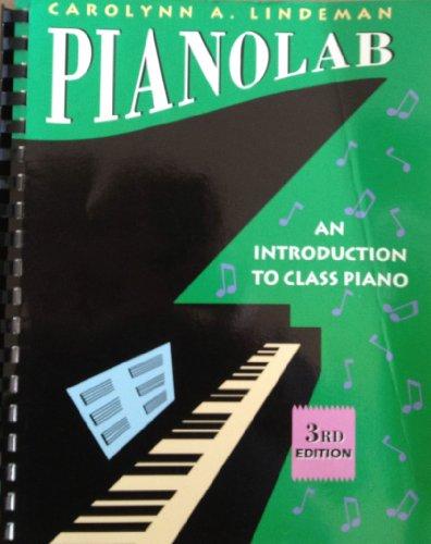 9780534251406: PianoLab