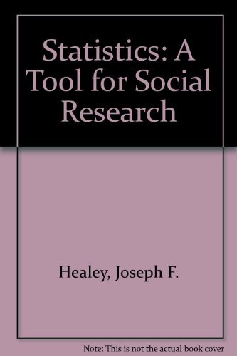 9780534251529: Statistics: A Tool for Social Research