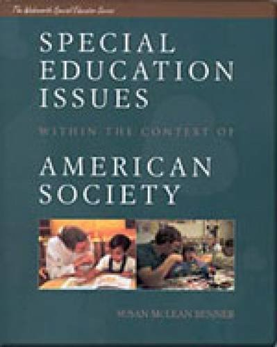9780534252304: Special Education Issues Within the Context of American Society (Wadsworth Special Educator Series)