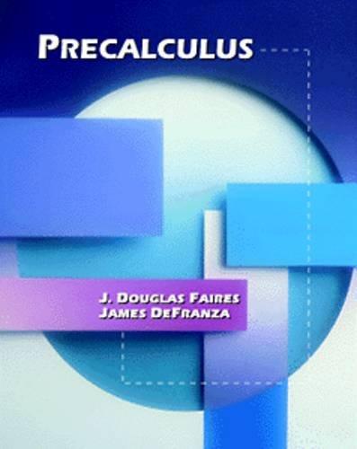 9780534252366: Precalculus