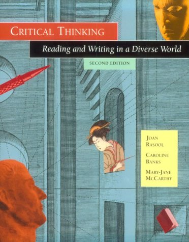 9780534256920: Critical Thinknig:Reading & Woo2: Reading and Writing in a Diverse World