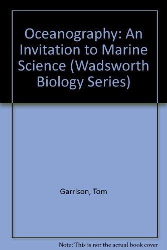 9780534257286: Oceanography : An Invitation to Marine Sciences