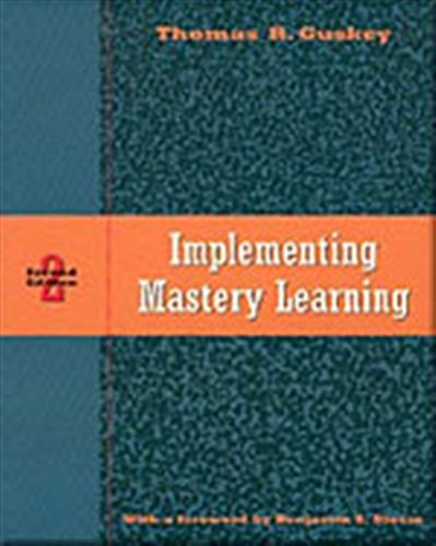9780534258726: Implementing Mastery Learning
