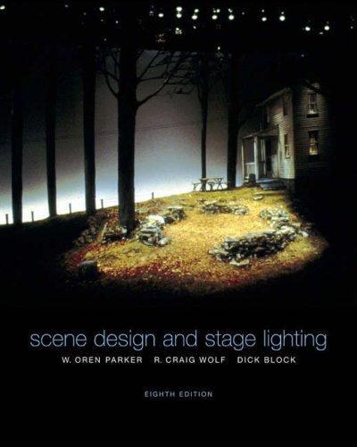 9780534259853: Scene Design and Stage Lighting