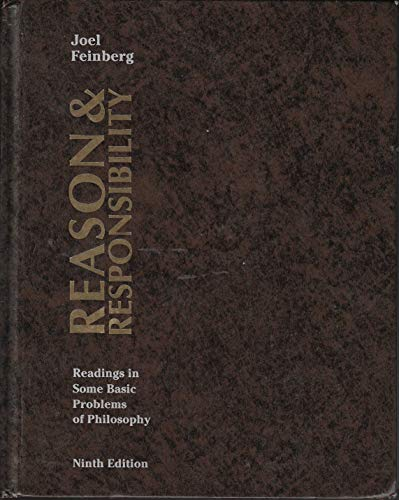 9780534259860: Reason and Responsibility: Readings in Some Basic Problems of Philosophy (Philosophy Series)