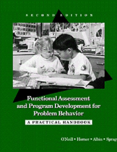 9780534260224: Functional Assessment and Program Development for Problem Behavior: A Practical Handbook
