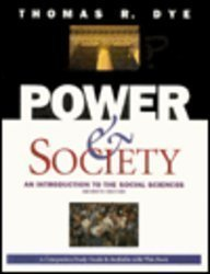 9780534260705: Power and Society: An Introduction to the Social Sciences (Political Science)