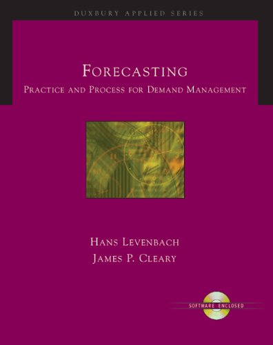 9780534262686: Forecasting: Practice and Process for Demand Management (with CD-ROM) (Duxbury Applied)