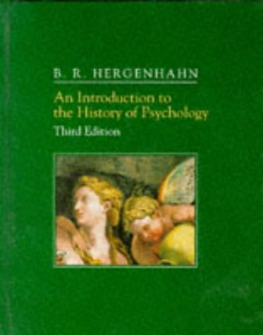 9780534263706: An Introduction to the History of Psychology