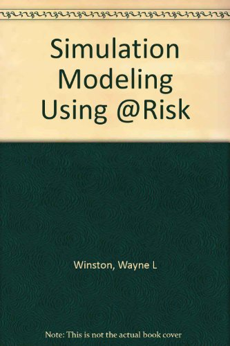 9780534264901: Simulation Modeling Using @Risk