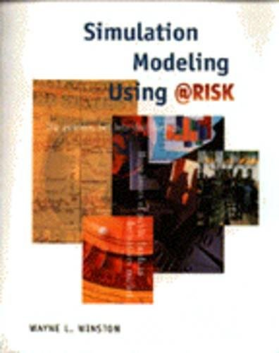 9780534264925: Simulation Modeling Using Risk