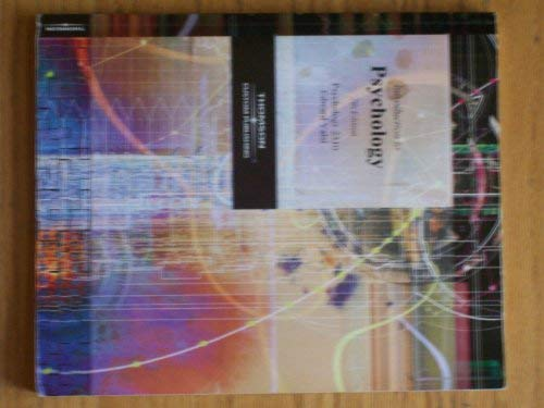 9780534270414: Introduction to Psychology (Custom Edition Psychology 2510 Edward Valsi)