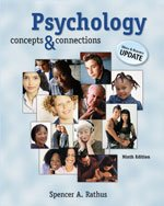 PSYCHOLOGY:CONCEPTS+CONNECTIONS>CUSTOM<: Spencer A. Rathus
