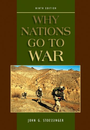 9780534273033: Why Nations Go to War