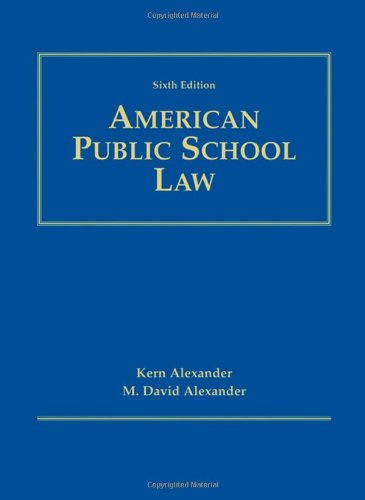 9780534274245: American Public School Law