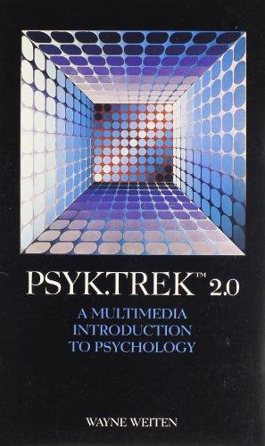 9780534275136: Psyk.Trek 2.0 CD-ROM: A Multimedia Introduction to Psychology
