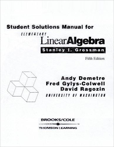 9780534279752: Elementary Linear Algebra