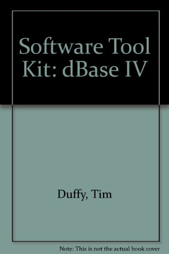 9780534302733: Tool Kit: dBASE IV (Wadsworth Series in Microcomputer Applications)