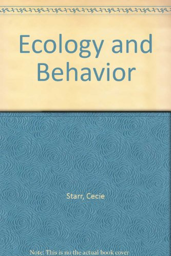 9780534304799: Ecology and Behavior