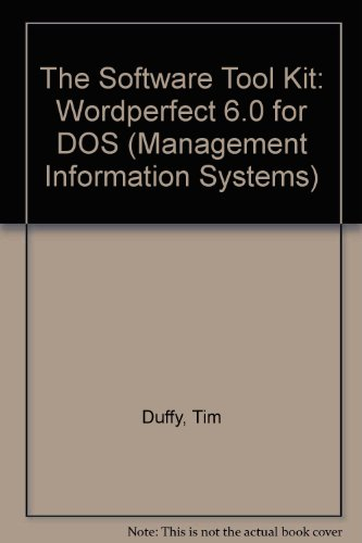 Tool Kit (Management Information Systems): Duffy, Tim