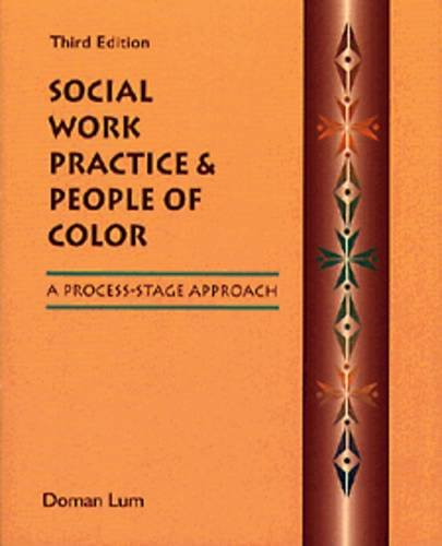 9780534338541: Social Work Practice and People of Color: A Process-Stage Approach