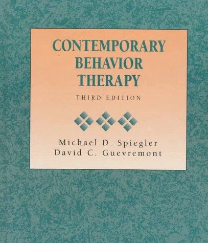 9780534338930: Contemporary Behavior Therapy