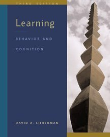 9780534339258: Learning: Behavior and Cognition