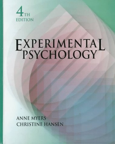 9780534339791: Experimental Psychology