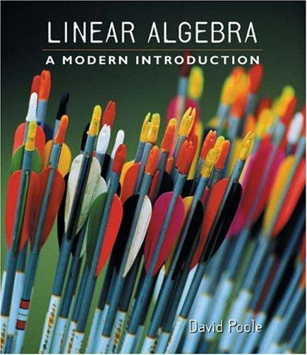 9780534341749: Linear Algebra: A Modern Introduction