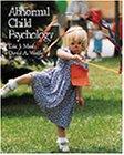 9780534342906: Abnormal Child Psychology