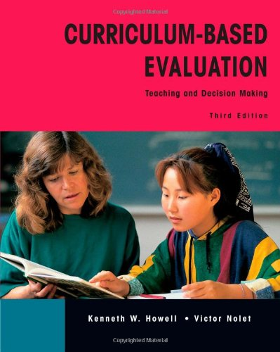 9780534343705: Curriculum-Based Evaluation: Teaching and Decision Making