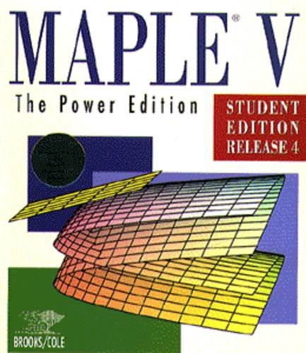 Solving Odes With Maple V: David Barrow, Art