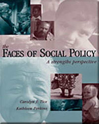 9780534345020: Faces of Social Policy: A Strengths Perspective (Social Welfare Policy & History)