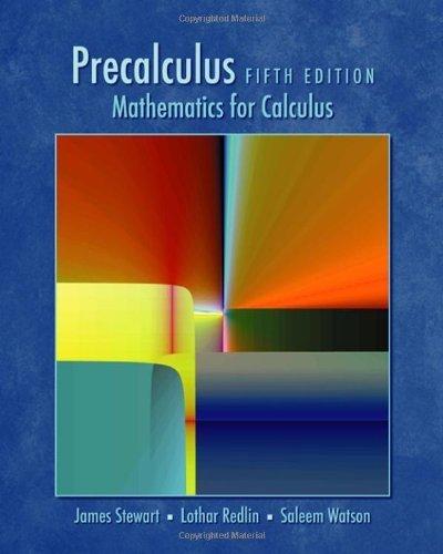 9780534345044: Precalculus: Mathematics for Calculus