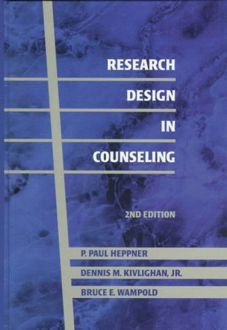 9780534345174: Research Design in Counseling