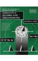 9780534346249: Fundamentals of Algebra and Trigonometry (Solutions Manual)