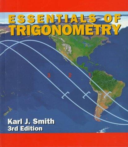 9780534348069: Essentials of Trigonometry