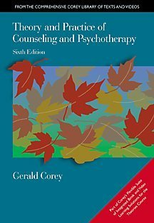 9780534348236: Theory and Practice of Counseling and Psychotherapy, Sixth Edition