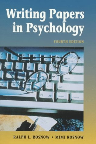 tips writing psychology research paper How to write a research report in psychology your literature review should be appropriate to the kind of paper you are writing if it is a thesis.