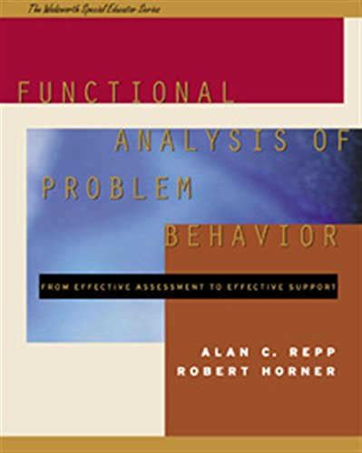 9780534348502: Functional Analysis of Problem Behavior: From Effective Assessment to Effective Support (The Wadsworth Special Educator Series)