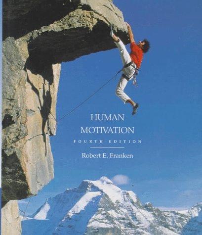 9780534348519: Human Motivation